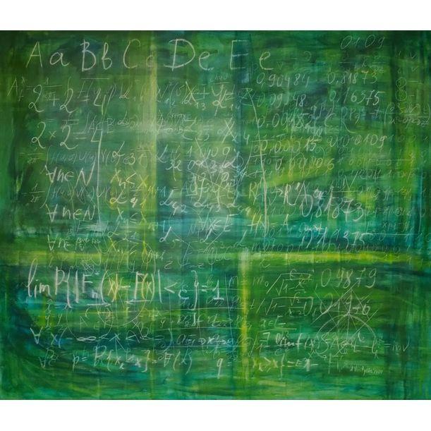 Old schoolboard by Anastasia Vasilyeva