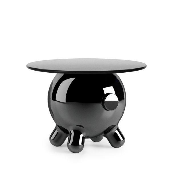 Pogo Black  Extra Large Side Table by Joel Escalona