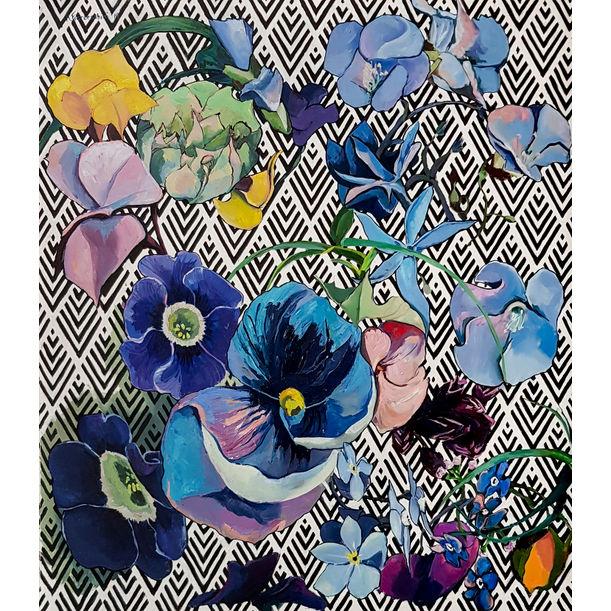 Garden Stories: Blue world by Karolina Franceschini