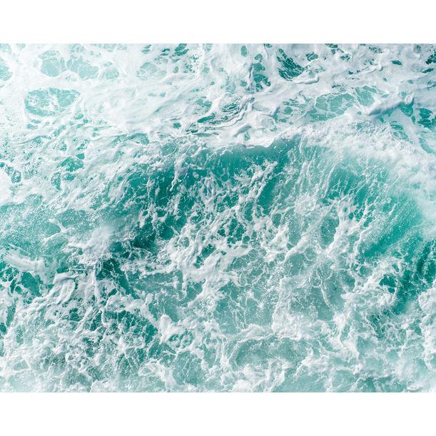 """""""Waves 10"""" - ocean photo print by Tommy Kwak"""