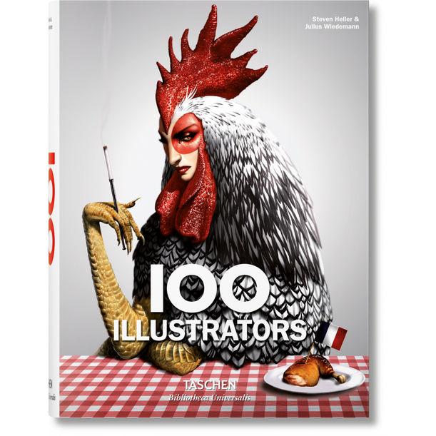 100 Illustrators by Steven Heller, Julius Wiedemann