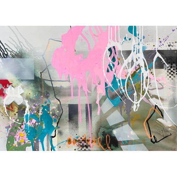 Dream bigger VI by Bea Garding Schubert