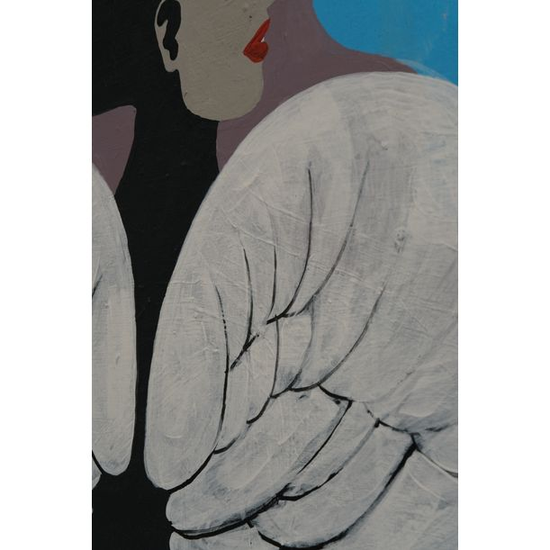 """""""Anges et Neptune dans un musée"""" by Ivan V. Nenashev"""