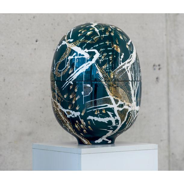 """Deep Ocean"" Egg Vessels Collaction by Mari JJ Design"