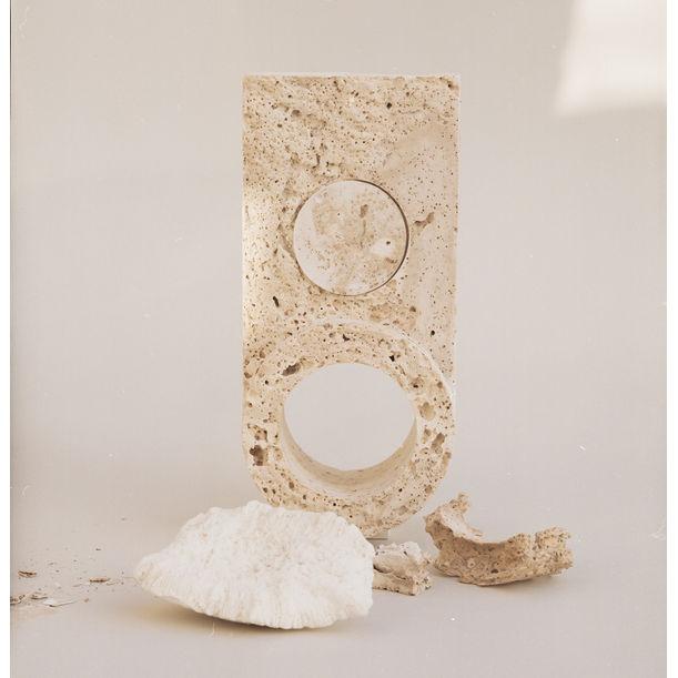 Disc Clock by Turbina Studio