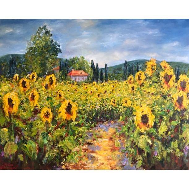 Sunflowers by Diana Malivani