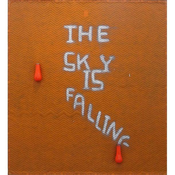 The Sky is falling (orange version) by Peter Buechler