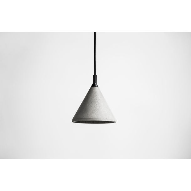 Zhong - Concrete Pendant Light by Bentu Design