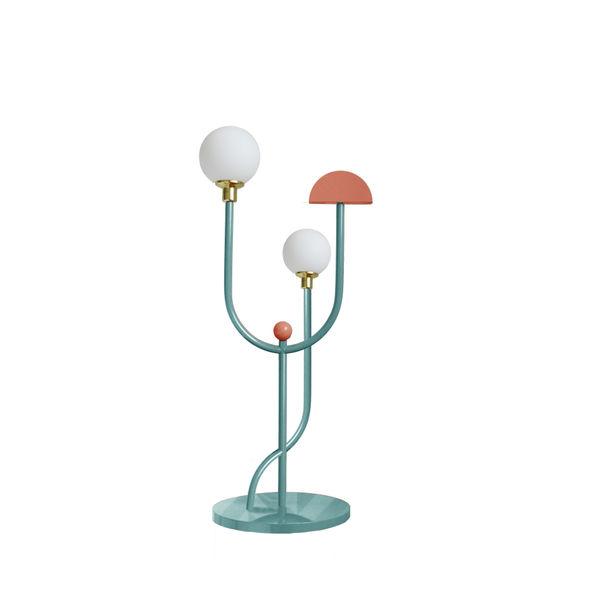 Space floor lamp by Dovain Studio