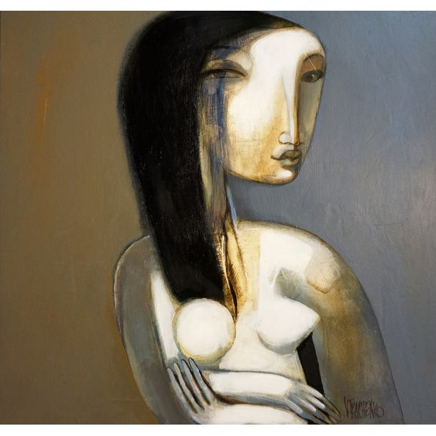 Dirty Girl by Victor Tkachenko