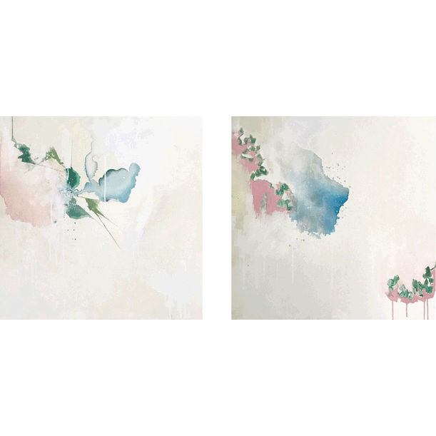My Places-F.Lush-17-18 Diptych by Tarini Ahuja