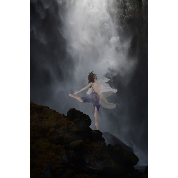 Rapture at the Cataract-Kegon Falls by Michael K. Yamaoka