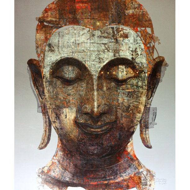Buddha no.2 ( Sukhothai ) by Jirasak Plabootong