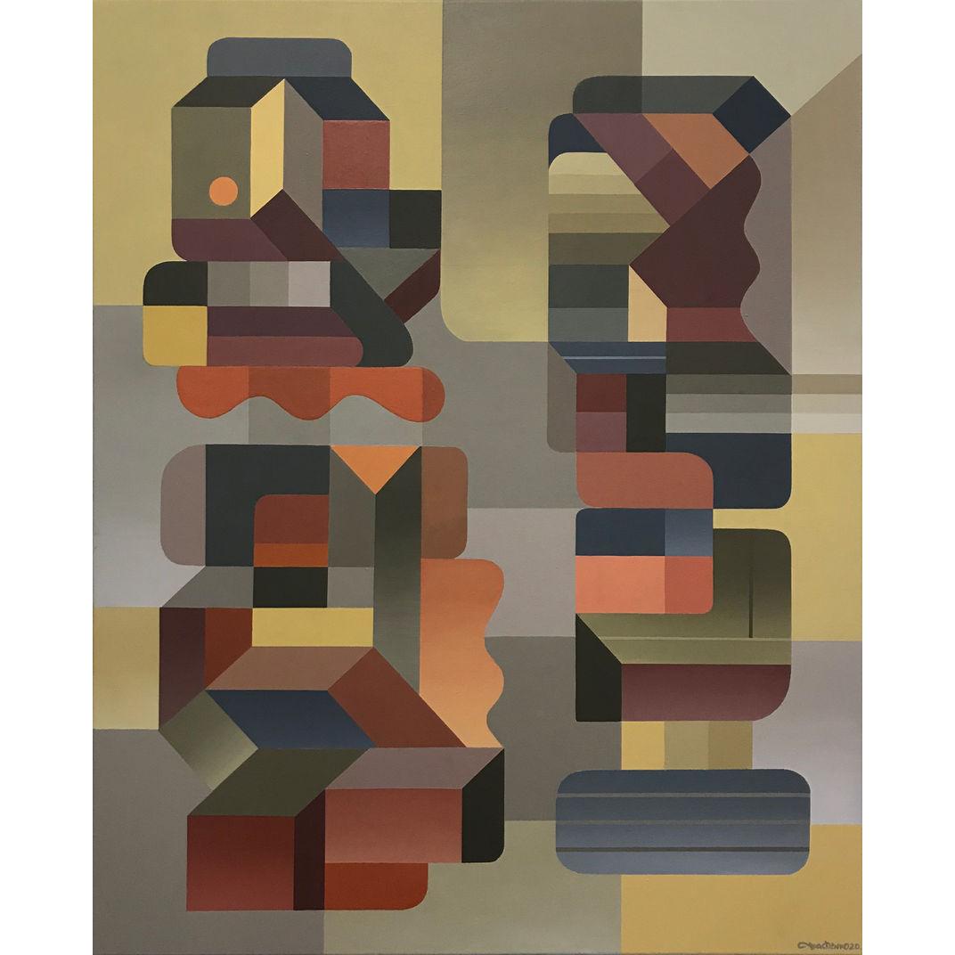 """Composition №25"", series ""Figurative speech"". by Evgeniy Tkachenko"