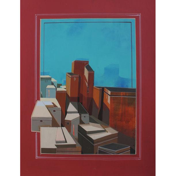 Urban Skyline 5 by Abhijit Paul