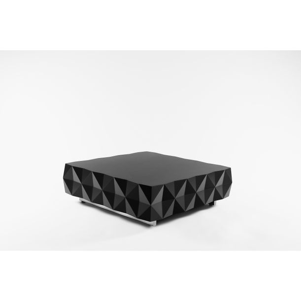 Geometric Black Coffee Table from Rocky Collection by Joel Escalona