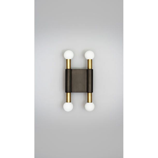 POLE AND CIRCLE II – WALL LIGHT by Square in Circle Studio