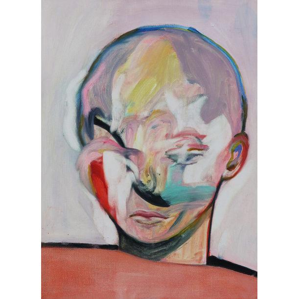 peel off face by Keiko Aikawa