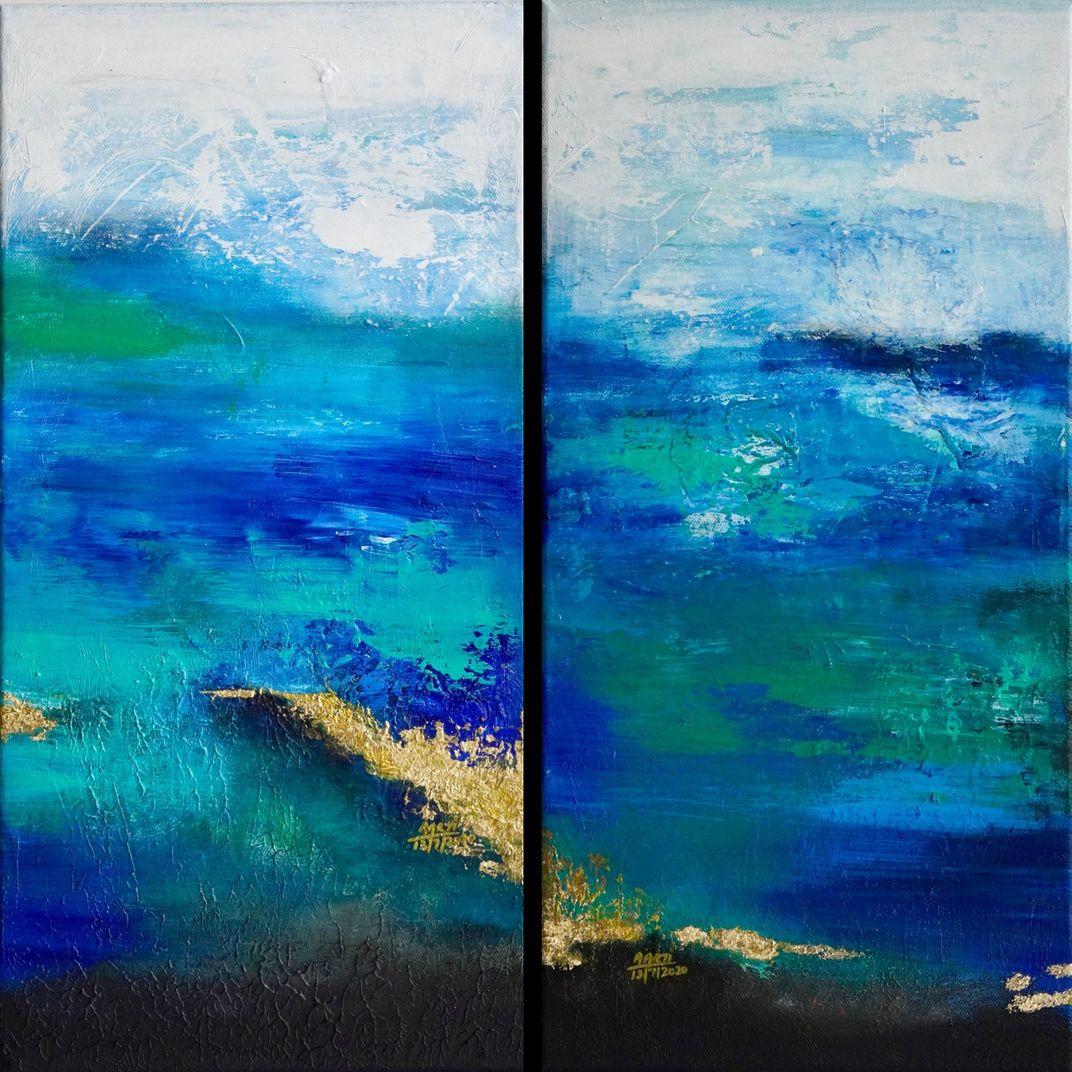 Blue Sea by Aarti Bartake