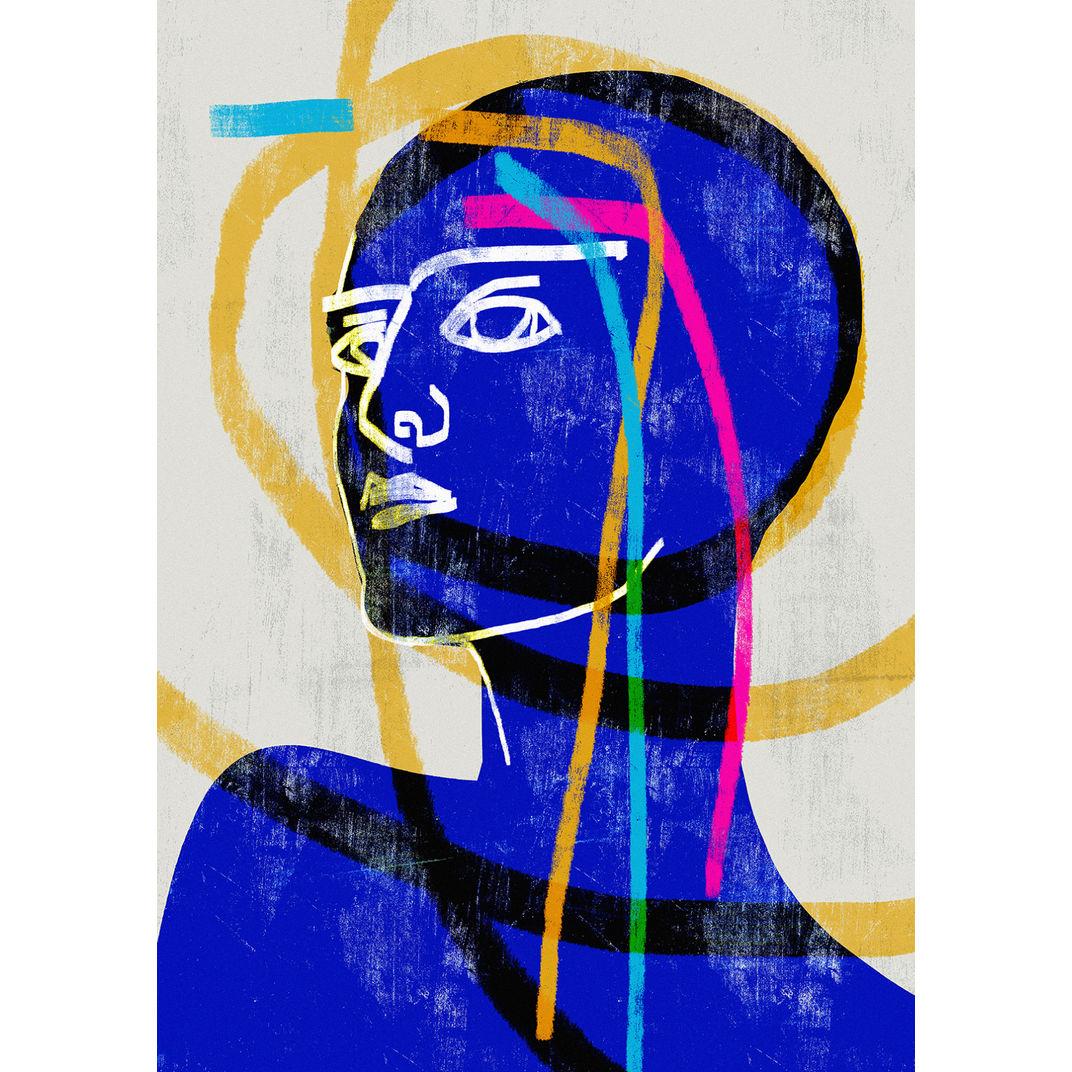 La Vie en Bleu #1 by Luciano Cian