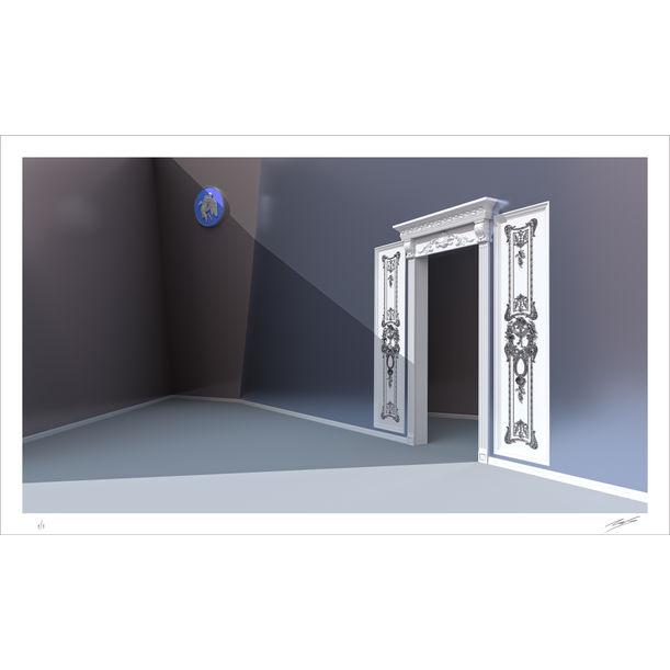 Baroque Door by Nacho Frades