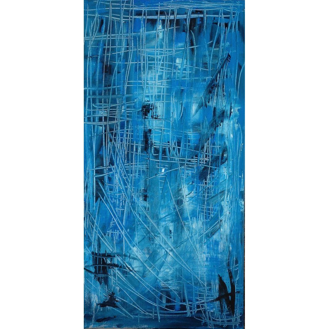 Blue Tear by Natalia Gromicho
