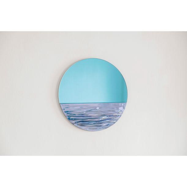 Orizon Mirror in Vivid Blue by Ocrum