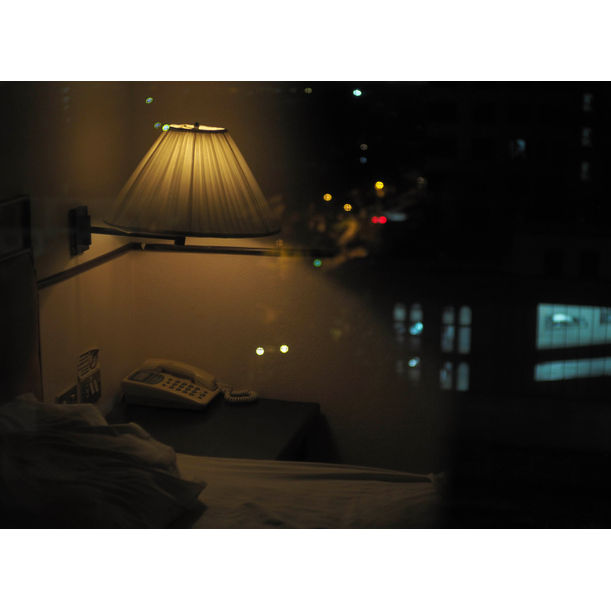 Night in the hotel by Kira Gyngazova
