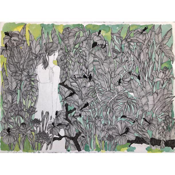 The Gardens Of Splendor No:11 by Erna Ucar