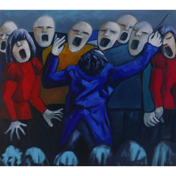 The opera singers by Ta Thimkaeo