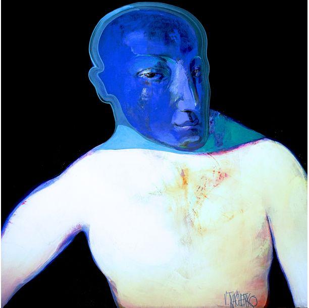 Blue Face by Victor Tkachenko
