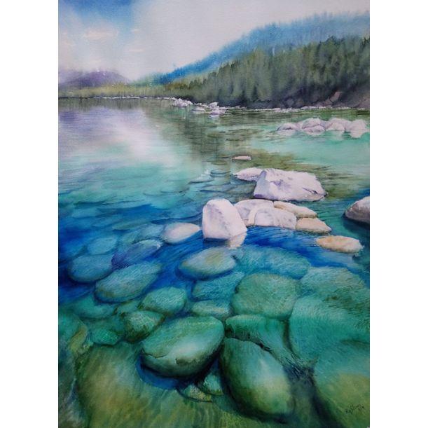 Shallow Waters # 4 by Rashmi Soni