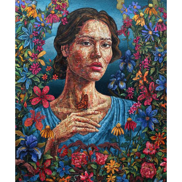 The Flower Garden by Adha Widhayansah