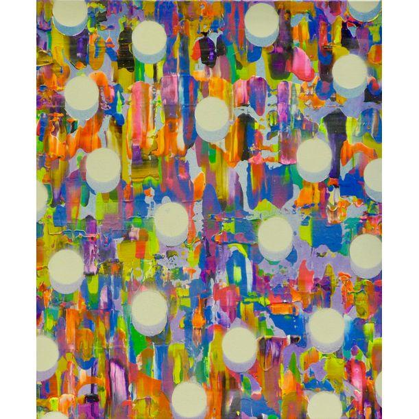 Atomised Blue Orange by Colin McCallum