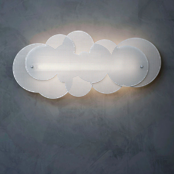 C L O U D I (WALL MOUNTED VERSION) permanent environment cleansing illumination by S  U  G  O
