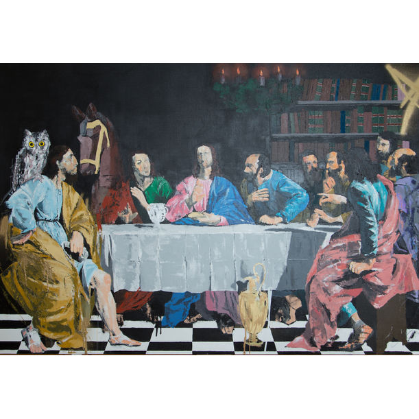 Buy The Last Supper Contemporary By Tomoya On The Artling