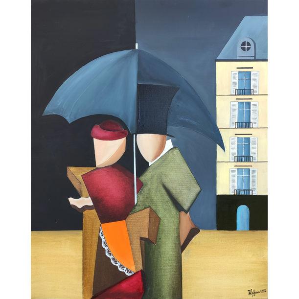 Rainy day in Paris by Alexander Trifonov