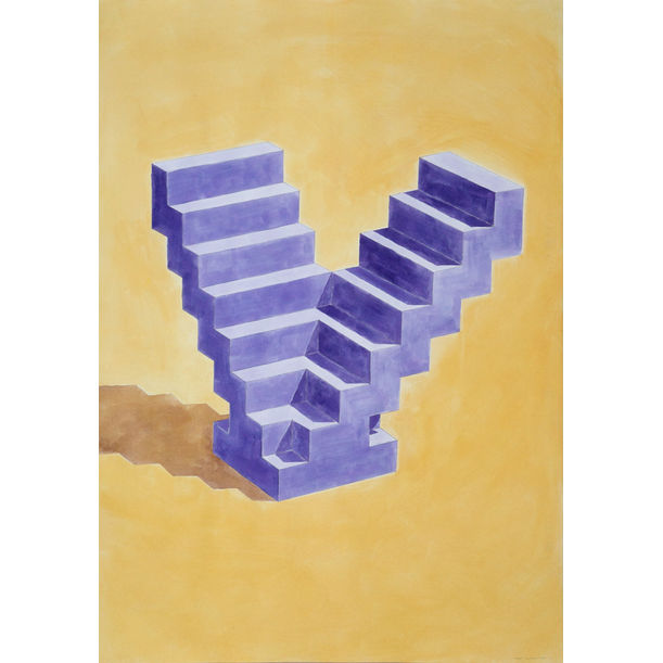 Double Staircase by Kind of Cyan