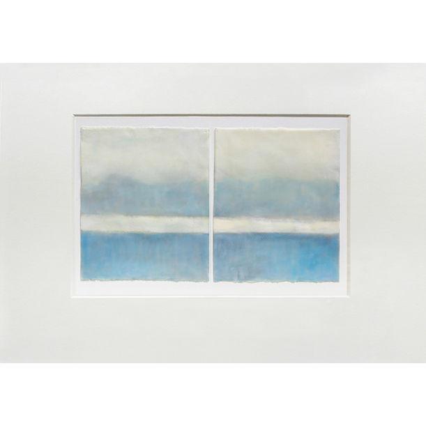 Blue On Blue by Janise Yntema