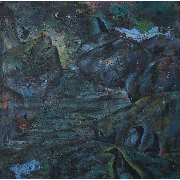The Sudden Walk by Yuan Rong Zhang