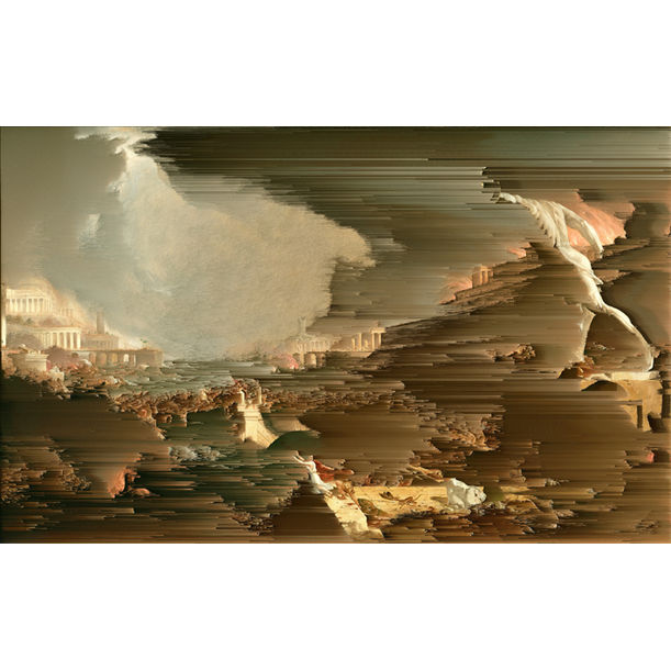The Course of Empire - Destruction (After Thomas Cole) by Gordon Cheung