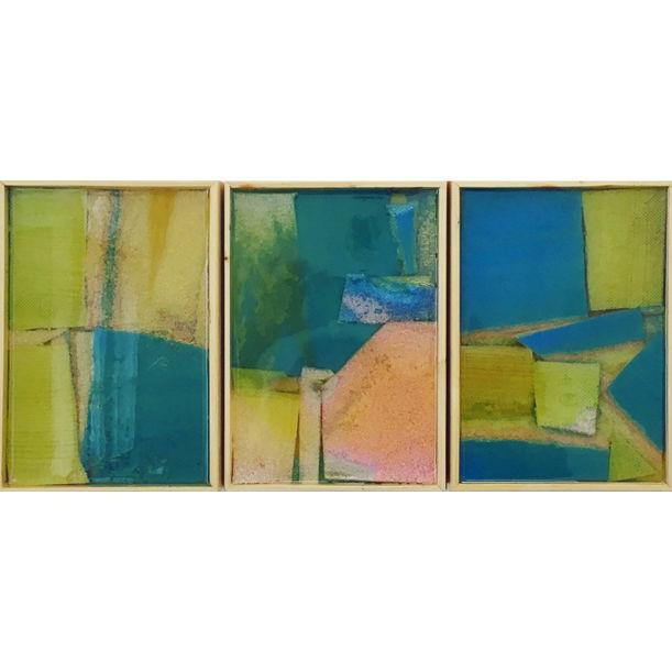 3 Compositions of Materials no.1 by Jazoo Yang