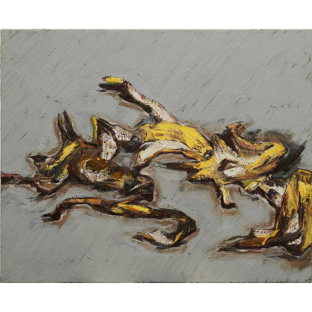 Pile of banna peels no.2 by Hyeun Ho Park