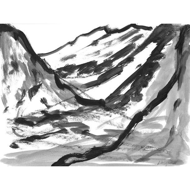 Mountains 003 by Anastasia Vasilyeva