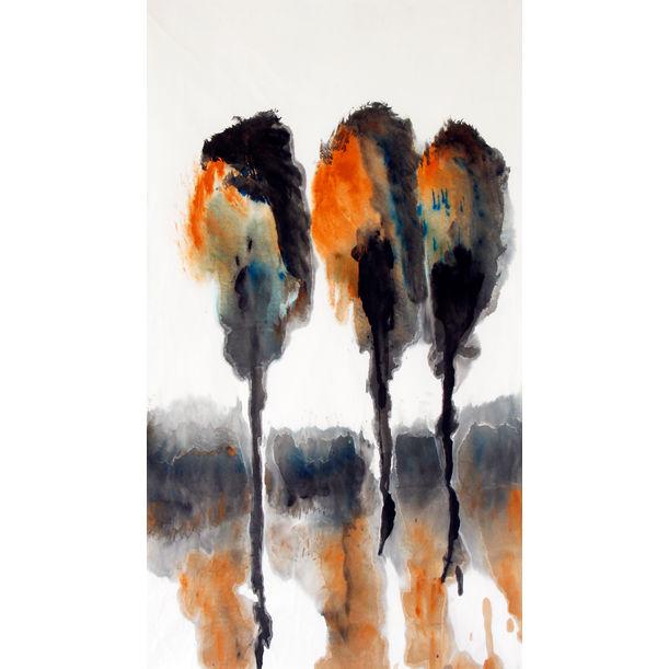 3 trees by Tan Kah Wah