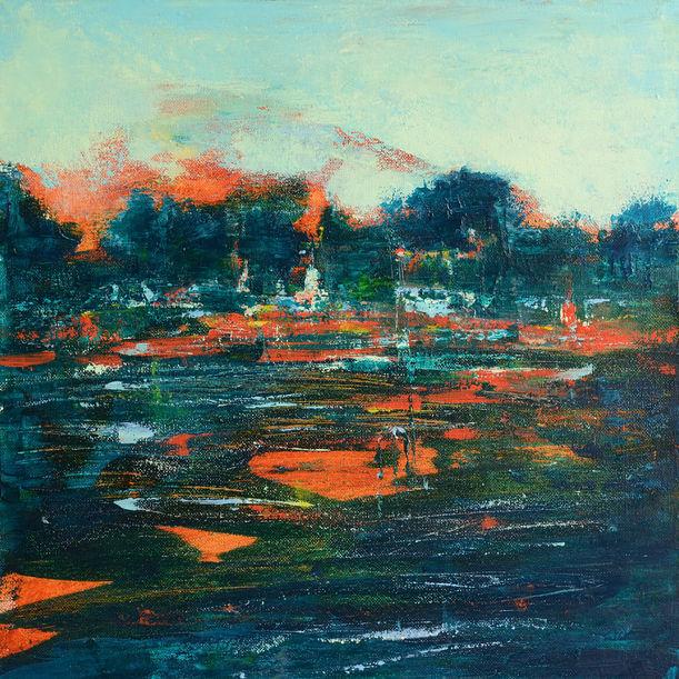 River of fire by Yulia Lenina