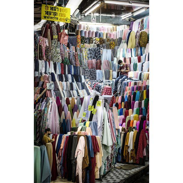 Phahurat Market by Theerapat Pawaprom