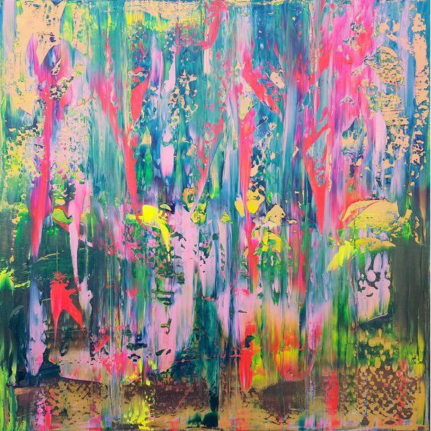 Rain of flowers by Ivana Olbricht