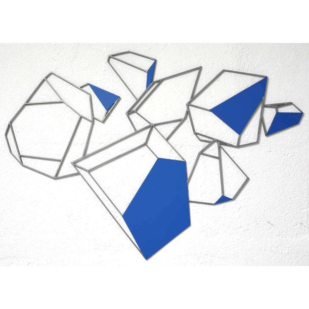 L'éclatement du cristal bleu by Yannick Bouillault