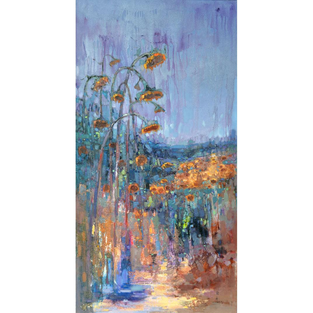 Properous sunflowers 515 by Jingshen you